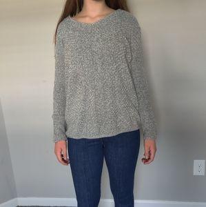 Light grey knit sweater